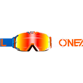 ONeal B-30 Goggle DUPLEX blue/white/orange-radium